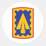 108o Brigada del ADA Pegatina Redonda