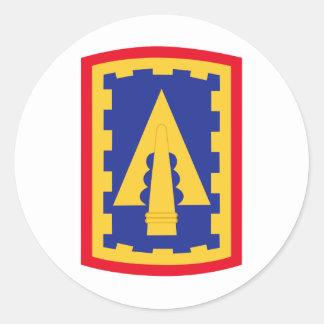108o Remiendo de la brigada de la artillería de la Pegatina Redonda