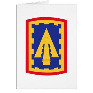 108o Remiendo de la brigada de la artillería de la Tarjeta De Felicitación