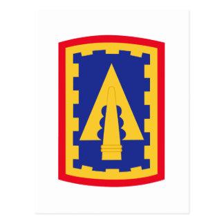 108th Air Defense Artillery Brigade Patch Postcard