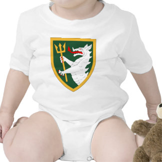 108th Armored Cavalry Regiment Baby Bodysuits