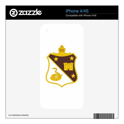 108th Medical Battalion iPhone 4S Decal