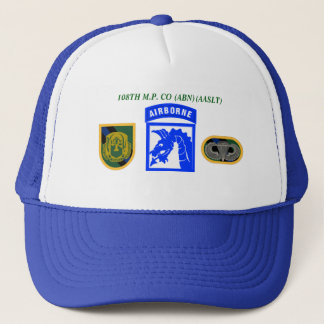 108TH MILITARY POLICE CO 18TH AIRBORNE HAT