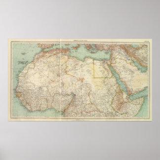 10911 North Africa Print