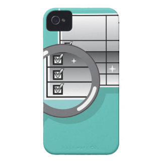 1099 Tax Form Zoom through Magnifying Glass iPhone 4 Cover