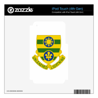 109 Armor Regiment Decals For iPod Touch 4G