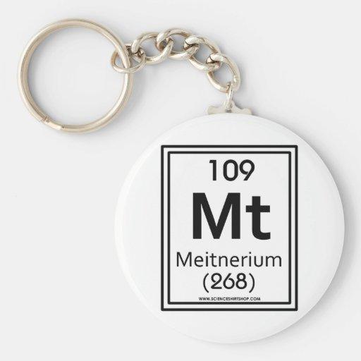 109 Meitnerium Key Chain