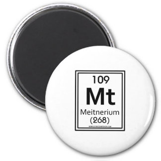 109 Meitnerium Magnet