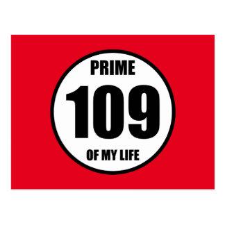 109 - prime of my life postcard