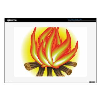 """109Fire _rasterized 15"""" Laptop Skin"""