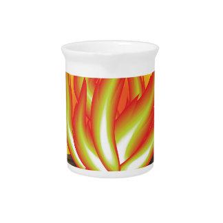 109Fire _rasterized Beverage Pitcher