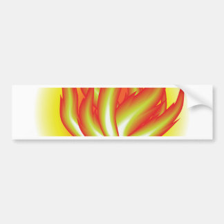 109Fire _rasterized Bumper Sticker