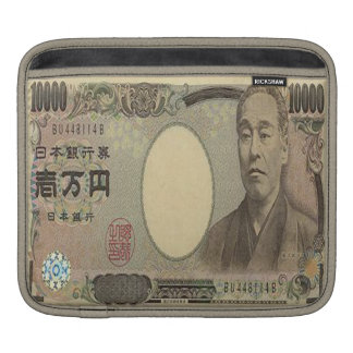 10,000 Japanese Yen Banknote iPad Sleeve