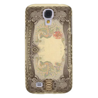 10,000 Japanese Yen Banknote iPhone 3 Cas Samsung Galaxy S4 Cover