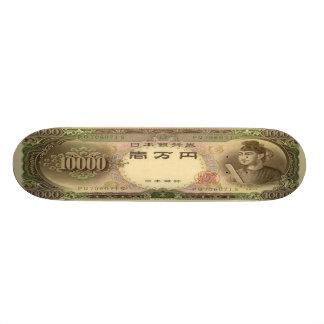 10,000 Japanese Yen Banknote Skateboard Pro