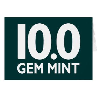 10.0 GEM MINT CARD