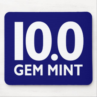 10.0 GEM MINT MOUSE PAD