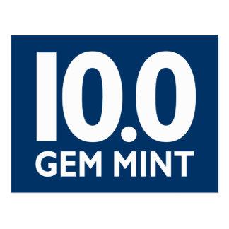 10.0 GEM MINT POSTCARD