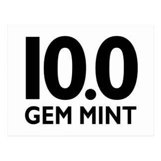 10,0 MENTA DE LA GEMA POSTALES