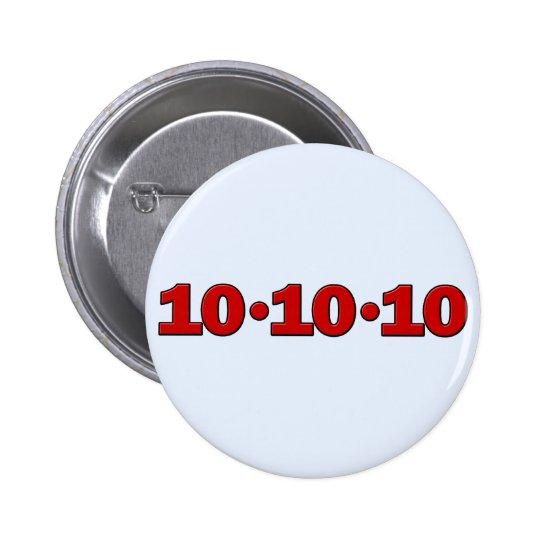 10-10-10: October 10, 2010 Button
