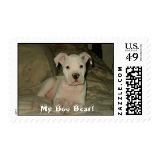 10-2005 005, My Boo Bear! Postage