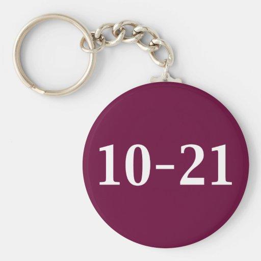 10-21 llamada por los regalos del teléfono llavero redondo tipo pin