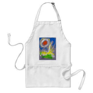 10-2 Abstract by Piliero Adult Apron