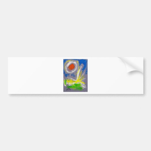 10-2 Abstract by Piliero Bumper Stickers