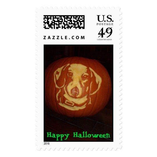 10-30-06 334, Happy Halloween Postage