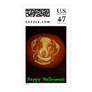 10-30-06 334, Happy Halloween Postage Stamp