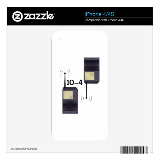 10-4 iPhone 4 DECAL