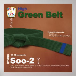 10-5 High Green Belt Do-jang Poster