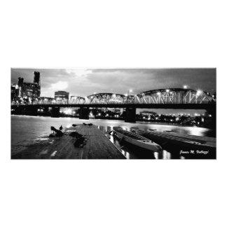 10.61 x 24 Hawthorne Bridge Portland, Oregon Photo Print