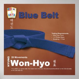 10-6 Blue Belt Do-jang Poster
