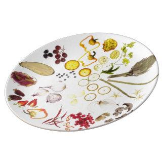 "10,75"" placa decorativa de la porcelana platos de cerámica"