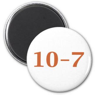10-7 fuera de servicio imán redondo 5 cm