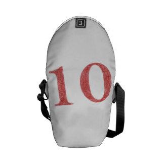 10 años de aniversario bolsas de mensajería