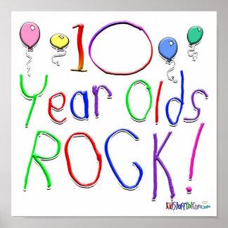 ¡10 años de la roca! poster