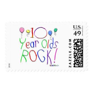 ¡10 años de la roca! sellos