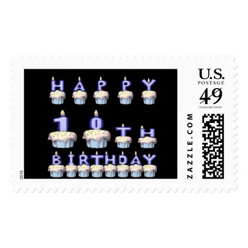10 años sello
