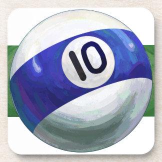 10 Ball Coasters