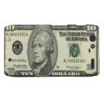 10 billete de dólar - caso de Droid RAZR Motorola Droid RAZR Carcasas