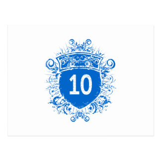 #10 Blue Shield Postcard