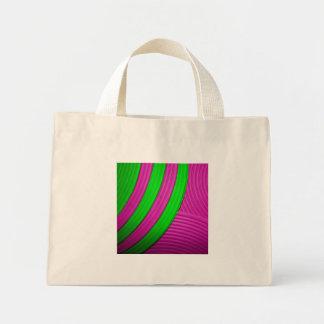 10 bolso rosado y verde bolsa