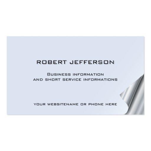 10 Business Card Wellness Fitness Finance Estate