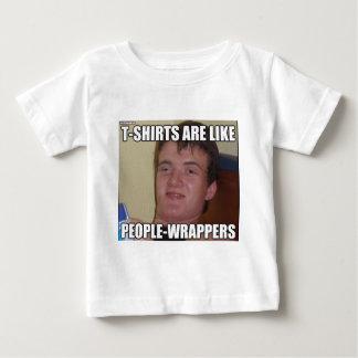 10 camisetas del individuo son como las envolturas camisas