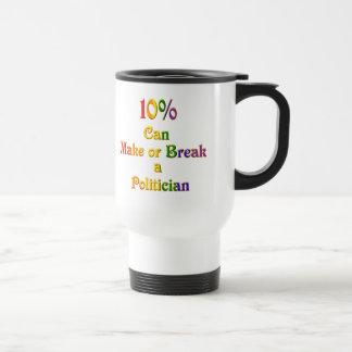 10%  Can Make Or Break Mug