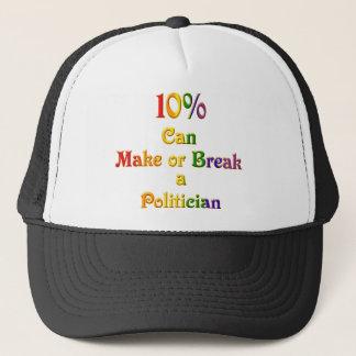 10%  Can Make Or Break Trucker Hat