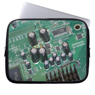 "10"" Circuit board laptop sleeve"