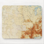10 Colored population 1890 Mouse Pad